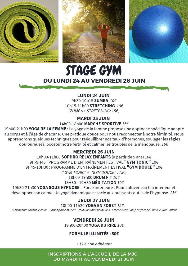 Stage gym