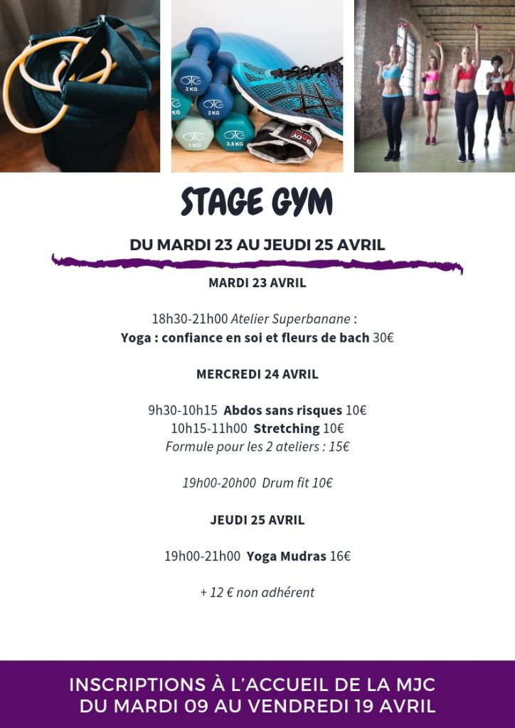 stage gym avril