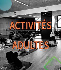 Activités adultes